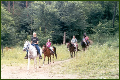 Horseback Trail Rides in Canton Ohio